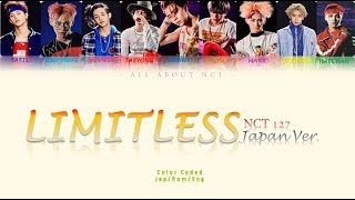 "Gambar cover [NCT 127]  ""Limitless Japanese Ver."" Color Coded Lyrics"