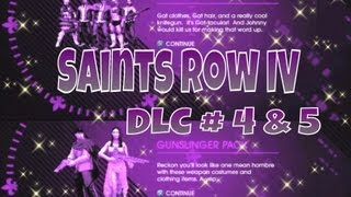 Saints Row IV DLC - GAT V Pack + Gunslinger Pack