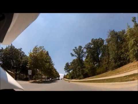 Cruising Around Fayetteville, AR On My Ninja 250r