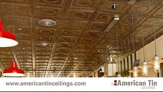 Drop-In Tin Ceiling Tiles (1/3)