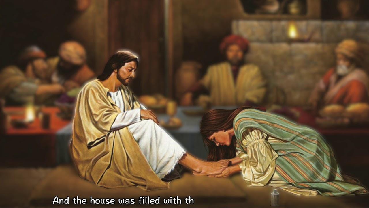 John [12:1-11] Jesus Anointed at Bethany - YouTube