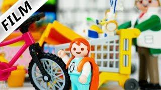 Playmobil Film deutsch 5 MINUTEN ALLES KAUFEN was Emma anfasst - Shopping Wahn extrem  Familie Vogel