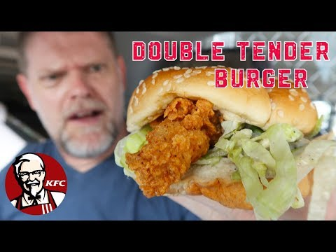 KFC Double Tender Burger Review – Australian Food Reviews
