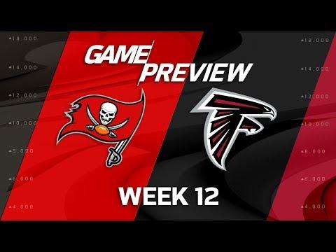 Tampa Bay Buccaneers vs. Atlanta Falcons   NFL Week 12 Game Preview   Total Access