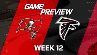 Tampa Bay Buccaneers vs. Atlanta Falcons | NFL Week 12 Game Preview | Total Access