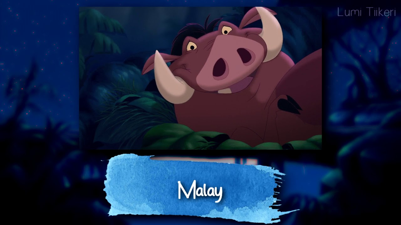 "Download The Lion King 3 - ""Junior Had A Bad Dream"" (One Line Multilanguage) [HD]"