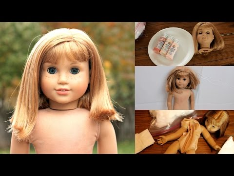 EXTREME AMERICAN GIRL DOLL RESTORATION: NELLIE