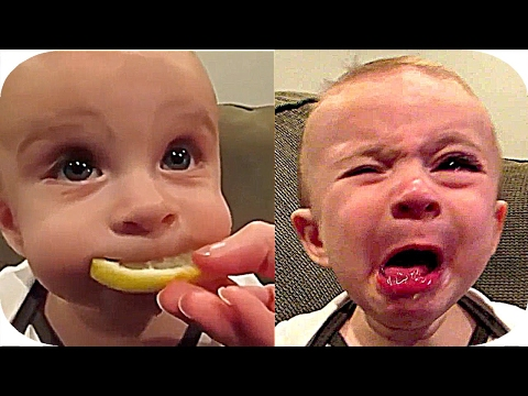 babies eating  lemon for the firsst  time  compilation 2017  ★★ HHHHHH ★★