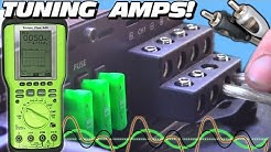 Tuning a Car Audio System w/ Two Subwoofer Bass Amps & 4 Channel Amplifier | How To Set OSCOPE Gains