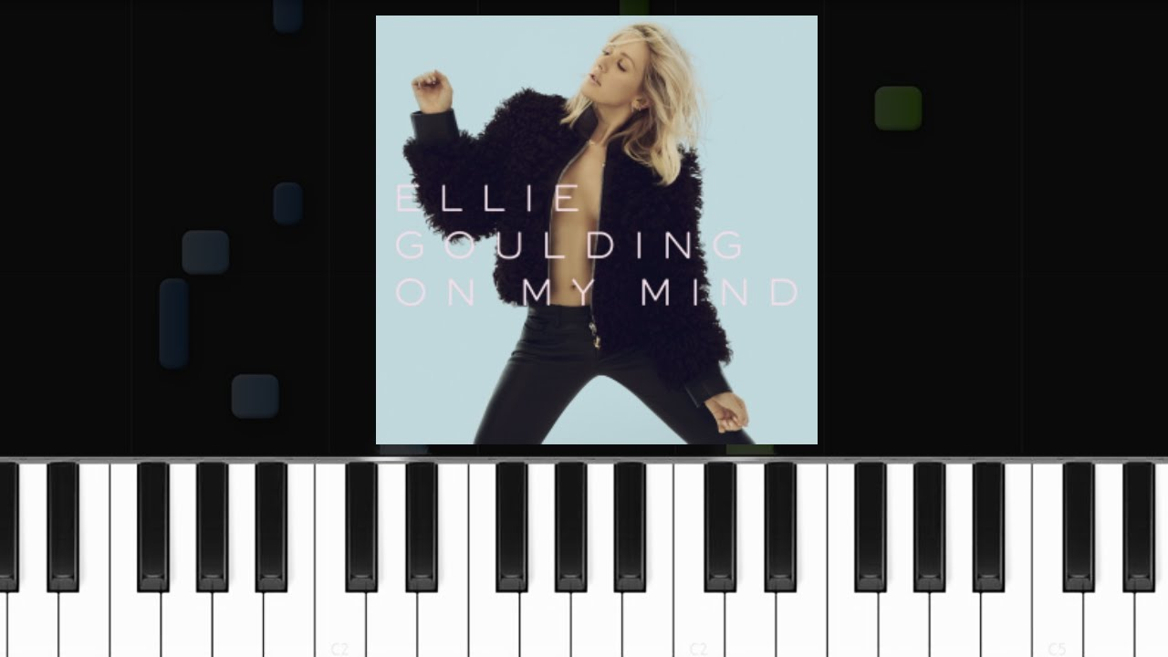 Ellie goulding on my mind piano tutorial chords how to ellie goulding on my mind piano tutorial chords how to play cover hexwebz Image collections