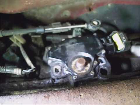 Ford Ranger `02 4x4 gear shifter hard to change gears replace trans range  sensor