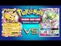 Pikachu EX / Magnezone VS Gardevoir GX - Pokemon TCG Online Game Play
