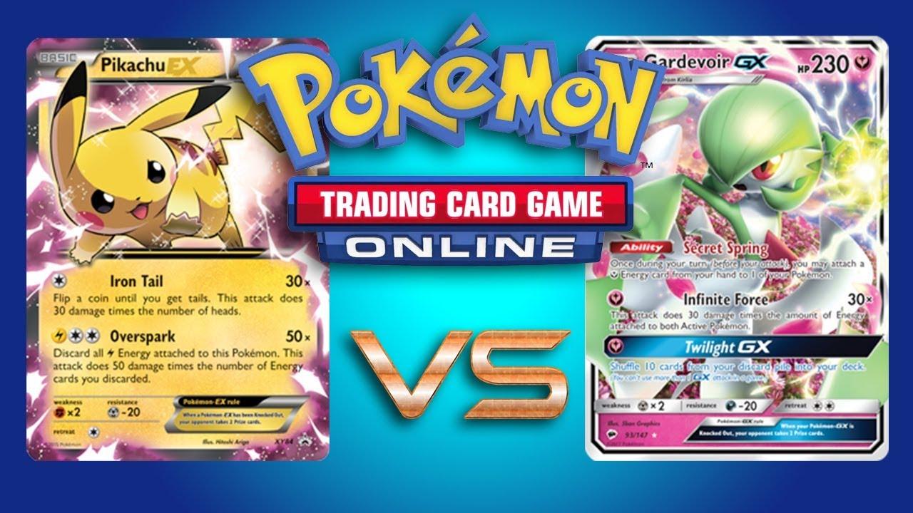 Pikachu Ex Magnezone Vs Gardevoir Gx Pokemon Tcg Online Game Play