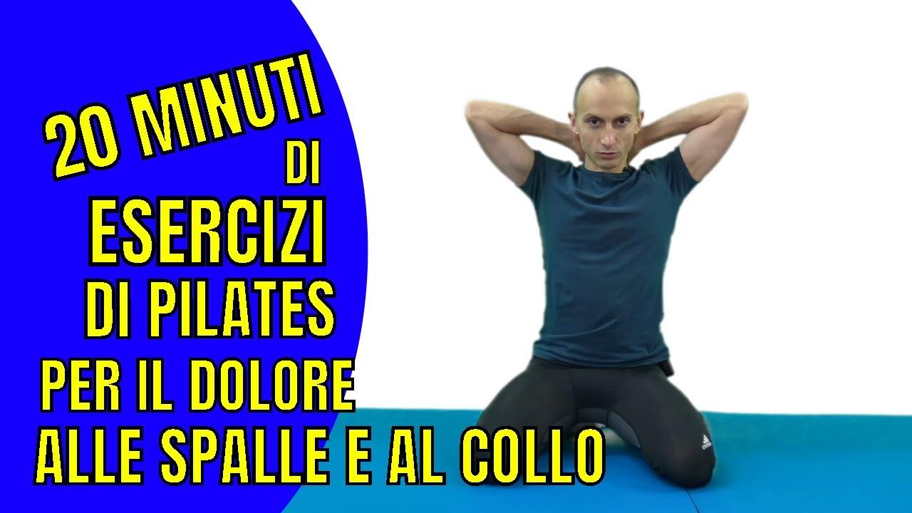 Esercizi di Pilates per il Dolore alla Spalla e al Collo..