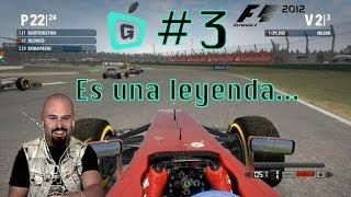 #3 F1 2012 para MAC en Español