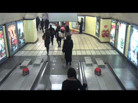 Chancery Lane Underground Station - 14/12/11