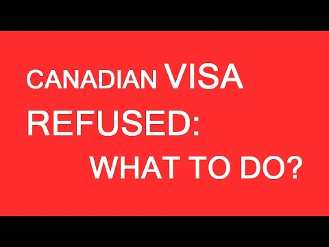 What To Do If Your Visa To Canada Has Been Rejected