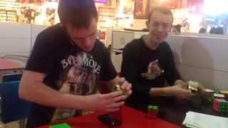 Мультизадачность при сборке кубика Рубика. Новая wca-дисциплина