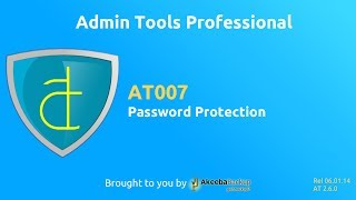 AT007 Admin Tools Professional - Password Protection