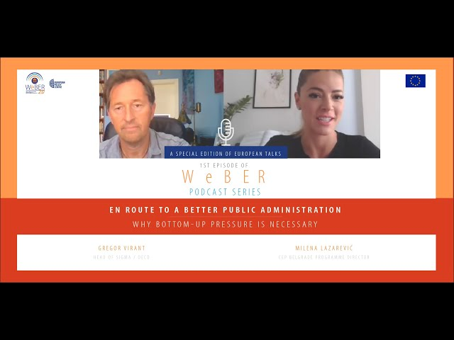 En route to a better public administration: Why bottom-up pressure is necessary