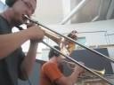 The Funderhorns (Lester Leaps In-improvisation)