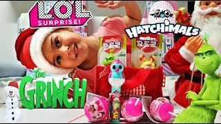 The Grinch Pez Candy Dispensers| Lol Lollipop Surprise| Hatchimals Lolli Pop Ups