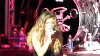 """slash and fergie """"barracuda"""" at the sunset strip music festival 8-28-10"""
