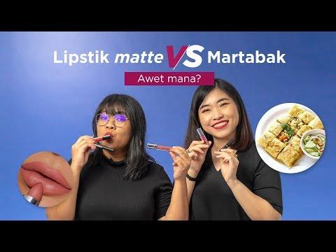 tes-ketahanan-lipstik-matte-vs-martabak---awet-yang-mana?-|-sorabel