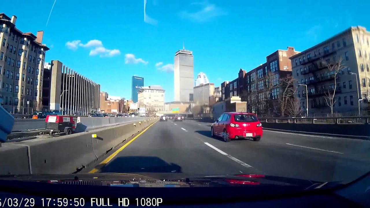 Driving Into Boston Ma