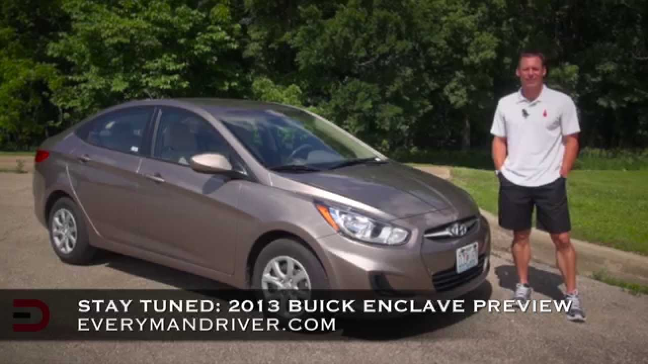 2013 Hyundai Accent Sedan >> Here S The 2013 Hyundai Accent Review On Everyman Driver