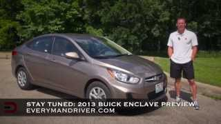 Detailed Review 2013 Hyundai Accent GLS on Everyman Driver