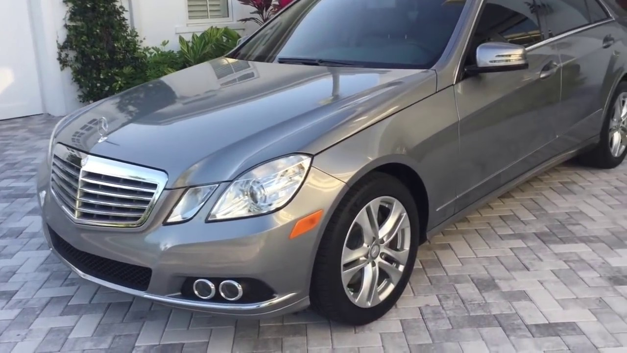 2011 Mercedes Benz E350 Luxury Review And Test Drive By Bill Auto Europa Naples Youtube