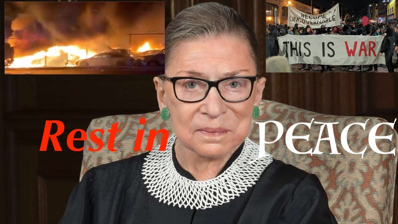 Twitter Approves as Democrats + Leftists go FULL ON Terrorist in Wake of RBG's Death - Do not Yield