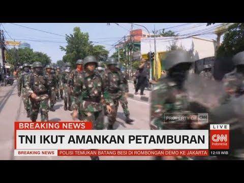 TNI Ikut Amankan Petamburan