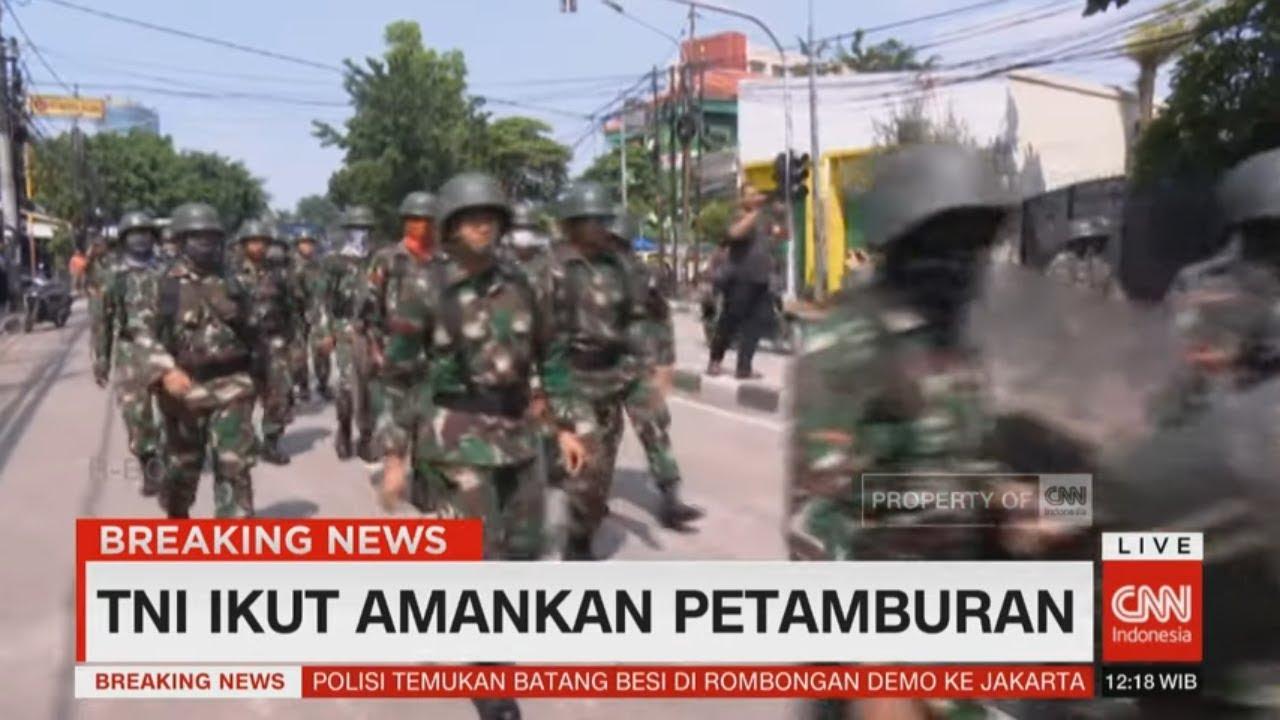 Download TNI Ikut Amankan Petamburan
