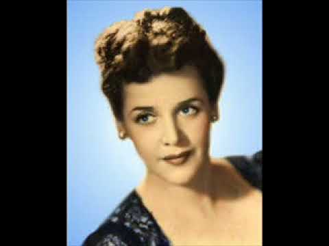 ELEANOR STEBER SINGS -  STRANGE MUSIC   1949 BROADCAST
