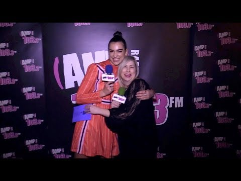 Dua Lipa Interview with Vanessa Hale -- AMP LIVE