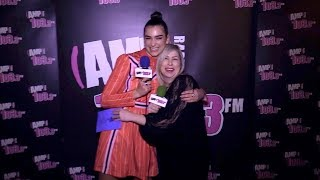 Dua Lipa Interview with Vanessa Hale -- AMP LIVE