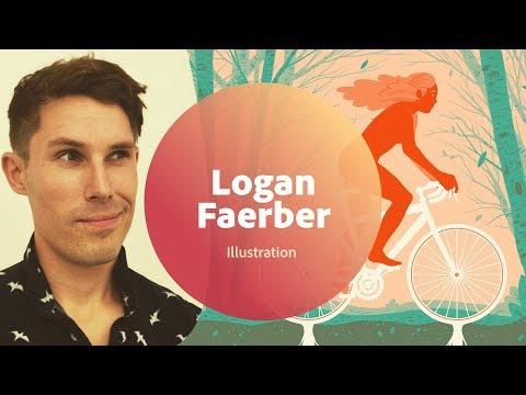 Live Illustration with Logan Faerber - 1 of 3