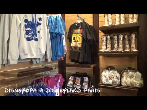 Disneyland Paris General Store Shop walkthrough 2017 DisneyOpa