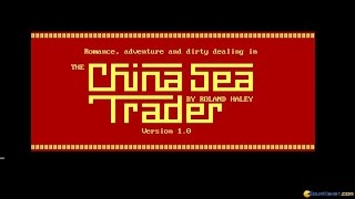 China Sea Trader gameplay (PC Game, 1989)