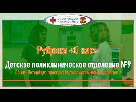 О нас - Обновленная детская поликлиника №9 Красногвардейского района