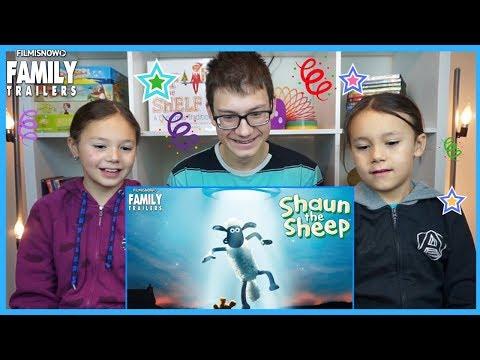 D-THREE KIDS REACT to SHAUN THE SHEEP MOVIE: FARMAGEDDON Teaser Trailer (2019)