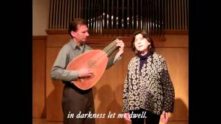IN DARKNESS LET ME DWELL by Peter Croton (lute) performed with Evelyn Tubb (soprano)