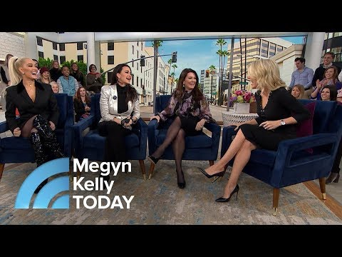 Real Housewives Of Beverly Hills On The Reality Series | Megyn Kelly TODAY