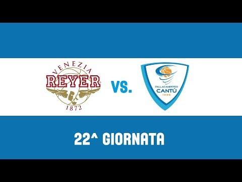 22^Giornata: Umana Reyer Venezia - Red October Cantù 107-83