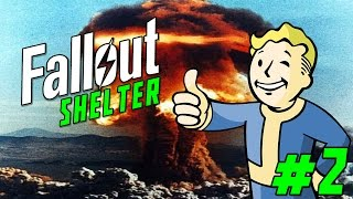 "Fallout Shelter Gameplay Part 2 - ""why Are Y'all So Unhappy?!?""  (ios/iphone/ipad Gameplay)"