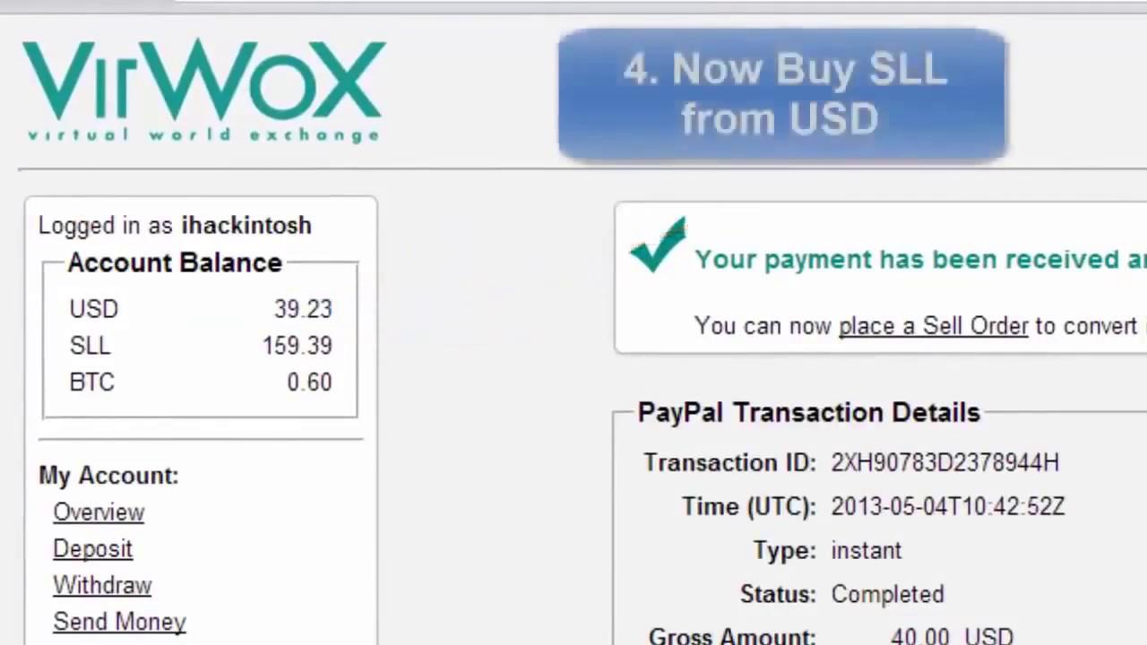 Bitcoin Via Paypal