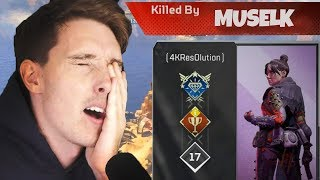 Lazarbeam SUCKS at Apex Legends Battle Royale...