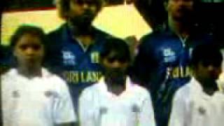 T20 final Srilanka vs Westindies NATIONAL ANTHEM - 2012